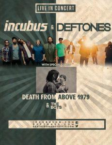 incubus tour