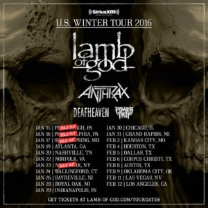 Lamb Of God Tour
